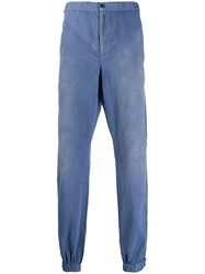 John Elliott Elasticated Waist Trousers Blue