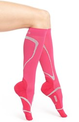 Women's Insignia By Sigvaris 'Performance' Compression Knee High Socks Pink
