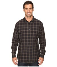 Filson Lightweight Alaskan Guide Shirt Black Charcoal Men's Long Sleeve Button Up