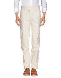 Santaniello And B. Casual Pants Ivory