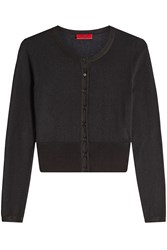 Hugo Silk Cardigan With Cotton And Cashmere Gr. Xs