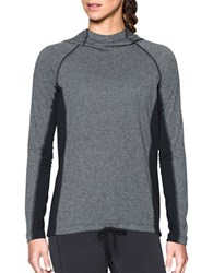 Under Armour Solid Raglan Hoodie Black