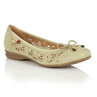 Lotus Relife Justyna Ballet Shoes Lime
