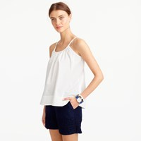 J.Crew Embroidered Swing Cami