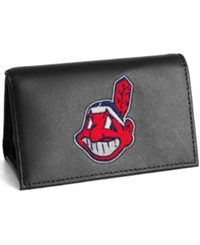Rico Industries Cleveland Indians Trifold Wallet Black