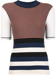 Opening Ceremony Colour Block Top