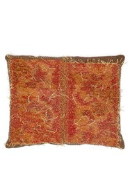 By Walid 18Th Century Tapestry Cushion Brown Multi