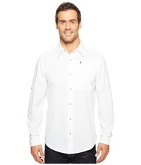 Marmot Boreas Long Sleeve White Men's Long Sleeve Button Up