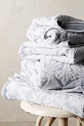 Anthropologie Mae Towel Collection Light Grey
