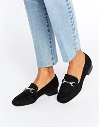 Truffle Collection Snaffle Loafer Black Micro