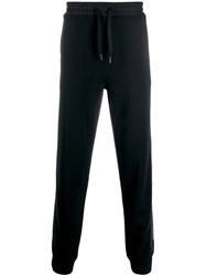 Karl Lagerfeld Elasticated Waist Trousers Black
