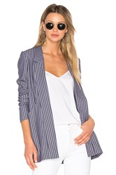 Bcbgeneration Front Pocket Blazer Blue