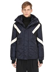 Neil Barrett Modernist Inserts Printed Ski Jacket