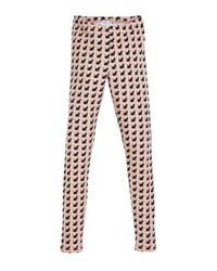 Mayoral Cat Print Leggings Pink