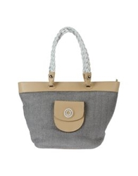 Francesco Biasia Large Fabric Bags Grey