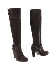 Anna F. Boots Dark Brown