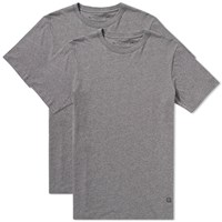 Denim By Vanquish And Fragment Plain Tee 2 Pack Grey