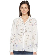 Lilla P Long Sleeve Button Down Shirt Vintage Floral Women's Long Sleeve Button Up Multi