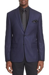 John Varvatos Men's Star Usa Trim Fit Wool Blazer