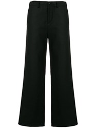 Stephan Schneider Pins Flared Trousers Black