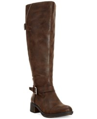 Styleandco. Style And Co. Gayge Wide Calf Riding Boots Only At Macy's Women's Shoes