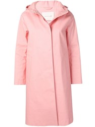 Mackintosh Hooded Trench Coat Pink
