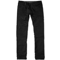 Marcelo Burlon Slim Fit Biker Jean Black