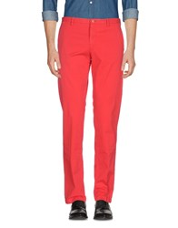 Versace Collection Casual Pants Red