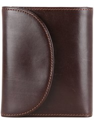 Whitehouse Cox Small 3 Fold Purse Brown