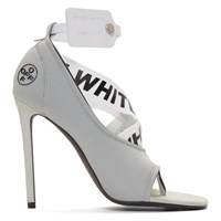 Off White Grey Yoga Sandals