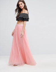 Y.A.S Mary Maxi Skirt Dusty Rose Pink