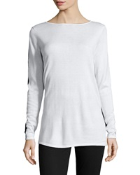 Paperwhite Long Sleeve Colorblock Pullover Medium