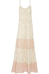 Chelsea Flower Avery Floral Print Maxi Dress White