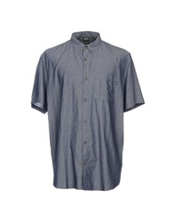 Oakley Denim Shirts Blue