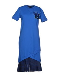 Ostwald Helgason Knee Length Dresses Blue