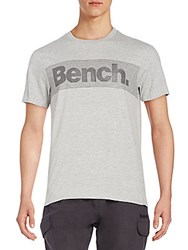 Bench Logo Graphic Tee Grey Marble