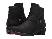 Wolky Gila Cw Black Mistique Nubuck Women's Pull On Boots