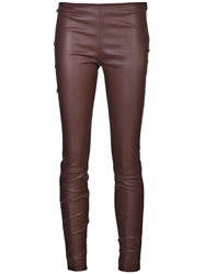 The Row 'Notterly' Legging Brown