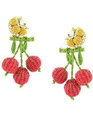 Mercedes Salazar Cherries Earrings 60