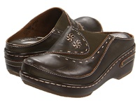 Spring Step Chino Olive Women's Clog Shoes
