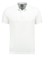 Ck Calvin Klein Pete Fitted Polo Shirt Classic White