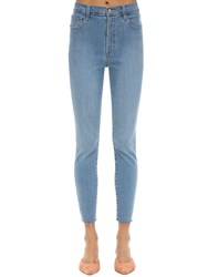 J Brand Leenah High Skinny Stretch Denim Jeans Blue