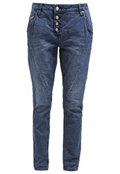 Opus Levy Relaxed Fit Jeans Blue Washed Blue Denim