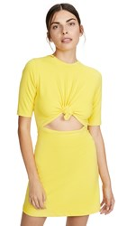 Susana Monaco Knot Front Dress Yellowtail