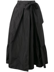 Dries Van Noten Skey A Line Skirt Black