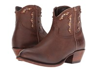 Lucchese Demi Whiskey Women's Shoes Brown