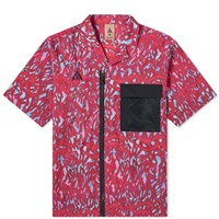 Nike Acg All Over Print Shirt Red
