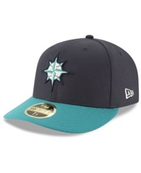 New Era Seattle Mariners Batting Practice Diamond Low Profile 59Fifty Cap Navy Teal