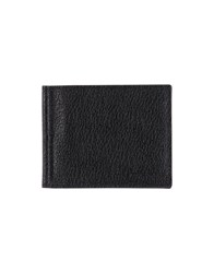 Orciani Small Leather Goods Document Holders Black