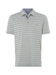 White Stuff Men's Pavilion Stripe Polo Multi Coloured Multi Coloured